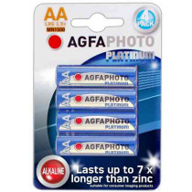 Platinum Agfaphoto AA Batteries. 4 Pack