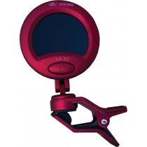 Viking GA-65 Chromatic Clip On Tuner, Red