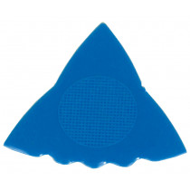 Herdim 3 Gauge Tri Blue Nylon Pick. 5 Pack