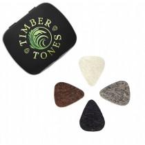 Timber Tones Felt Tones Mixed Gift Tin of 4 Felt Picks