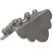 Ashbury Mandolin Tailpiece, Nickel