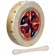Glenluce 8inch Bodhran, Links design