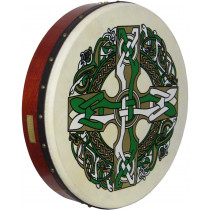 Waltons 18inch Bodhran Celtic Cross