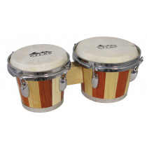 Atlas Tuneable Bongos, Two Tone Wood