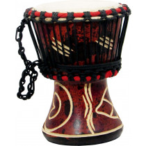 Bucara By Atlas Djembe 4inch Head, Wooden Body