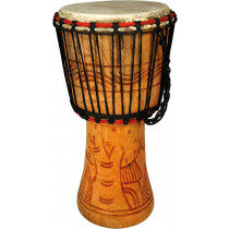 Bucara By Atlas Djembe 9inch Head, Cedar Wood