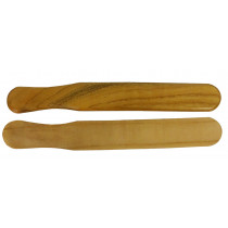 Atlas Mulberry Wood Bones, Pair