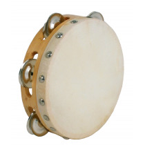 Atlas Tambourine 6inch Head, Single