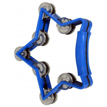 Atlas Star Tambourine, Blue