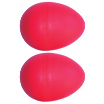 Atlas Pair of Shaky Eggs, Red