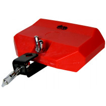 Atlas Large Plastic Tone Block, Red