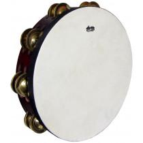 Atlas 10inch Pro Tambourine, Double