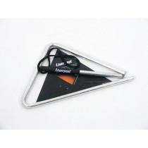Liverpool Triangle Chromed Steel 36cm