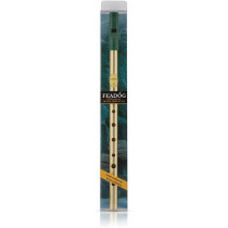 Feadog Brass High D Whistle Pack