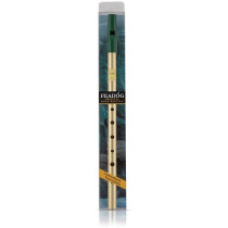 Feadog FW20A Brass High C Whistle Pack