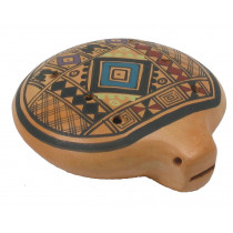 Atlas Inca Ocarina from Peru