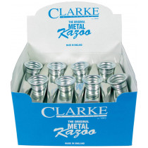Clarke Metal Kazoo, Box of 24