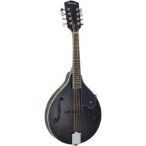 Ashbury AM-10K A Style Mandolin, Black