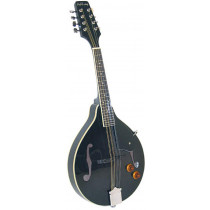 Ashbury AM-10 A Style Electro Mandolin, Black