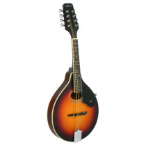 Ashbury AM-50 A Style Mandolin, Tobacco S/B