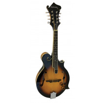 Ashbury AM-380E Electro F Style Mandolin, S/B