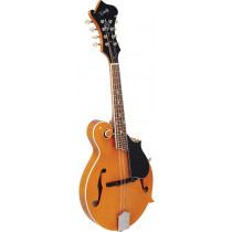 Kentucky KM-752 Deluxe F Model Mandolin. Amber
