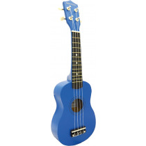 Blue Moon BU-02B Coloured Soprano Ukulele, Blue