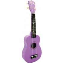 Blue Moon BU-02E Coloured Soprano Uke, Purple
