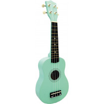 Blue Moon BU-02G Coloured Soprano Uke, Green