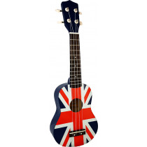 Blue Moon BU-07 UK Flag Soprano Uke