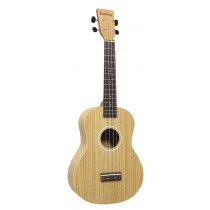 Ashbury AU-40T Tenor Ukulele, Flamed Oak
