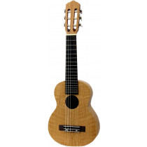 Ashbury AU-40G Guitarrita, Flamed Oak