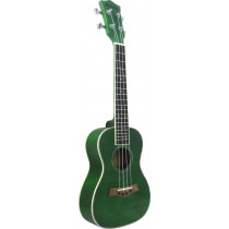 Ashbury AU-18C-G Concert Uke, Flamed Maple