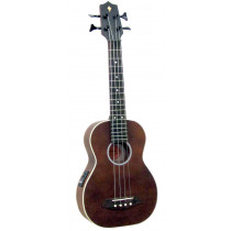 Ashbury AU-90B Bass Ukulele, Solid Spruce Top