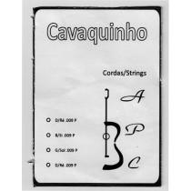 Carvalho Cavaquinho String Set