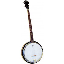 Ashbury AB-35-5L 5 String Banjo, Left Handed