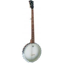 Ashbury AB-55 Openback 5 String Banjo, Walnut