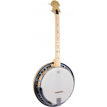 Ashbury AB-65 Tenor Banjo, 19 Fret, Maple Rim