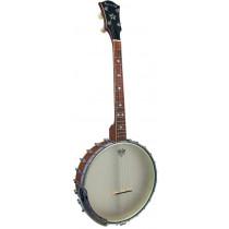Ashbury AB-55 Openback Tenor Banjo, 17 Fret