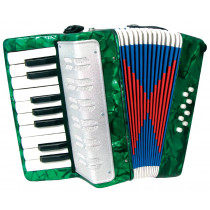 Scarlatti Child's Piano Accordion, Green