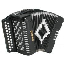 Scarlatti D/G Melodeon, Black