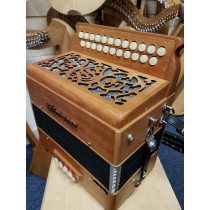 Howe III B/C Melodeon, Cagnoni Reeds