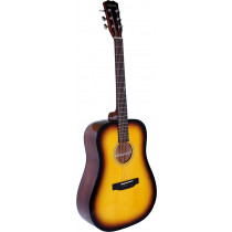 Blue Moon BG-28 Dreadnought Guitar, Sunburst