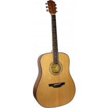 Ashbury AG-44 Dreadnought Guitar Solid Cedar