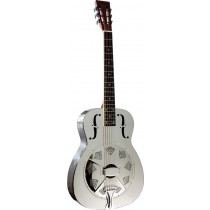 Ashbury AR-46 Resonator Guitar, Single Cone