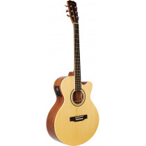 Blue Moon BG-34E Electro Acoustic Guitar, Nat