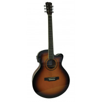 Blue Moon BG-34ET Electro Acoustic Guitar, S/B
