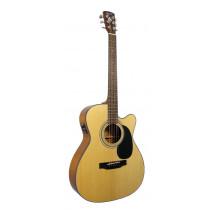 Bristol BM-16 OOO Electro Acoustic Guitar