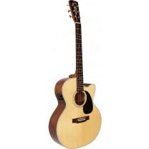 Blueridge BR-65CE Grand Aud Guitar, Electro
