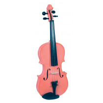 Blue Moon VG-105 Pink Violin, 1/2 Size